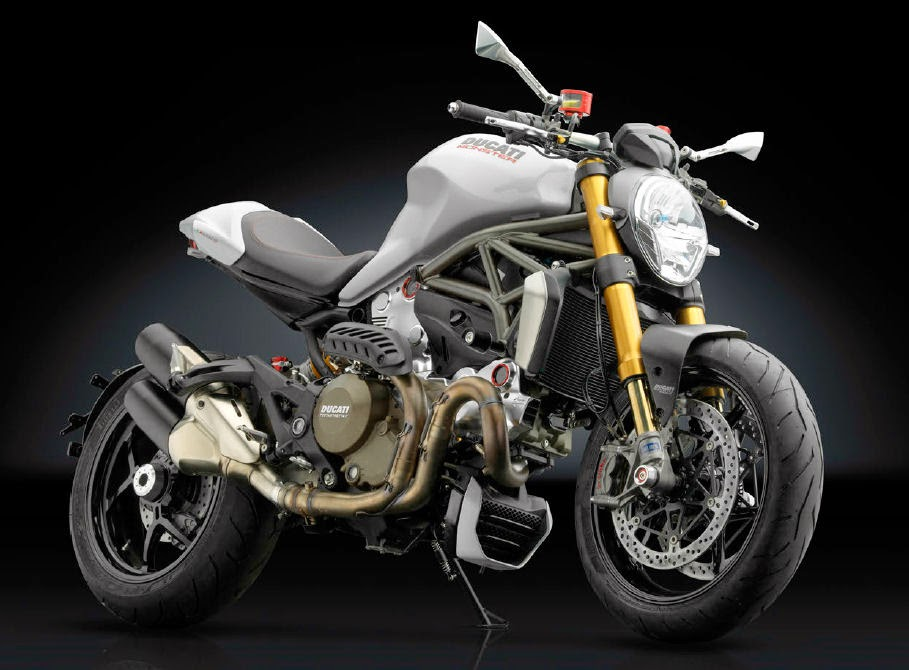 Ducati Monster Negra