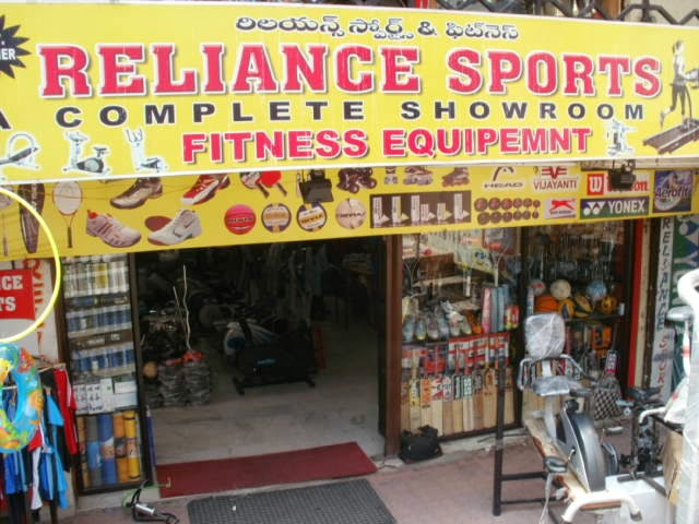 Relaince sports Hyderabad