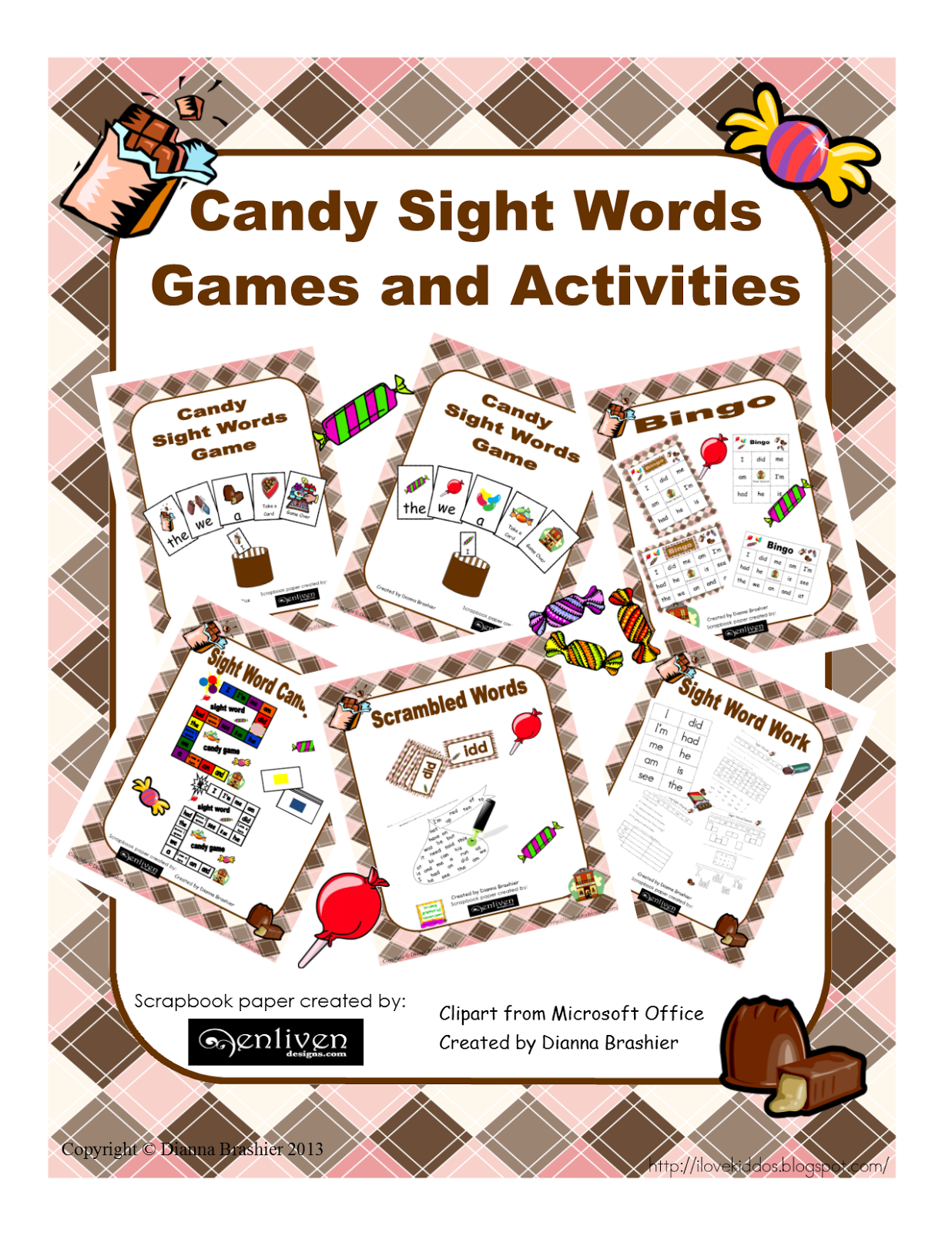 Teachers R Us Candy Sight Word Activities