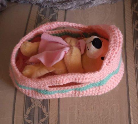 Elephant Sun Dog My Moses Basket Crochet Pattern