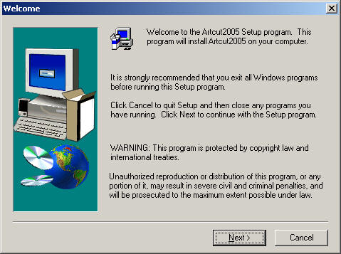 artcut 2009 graphic disc image