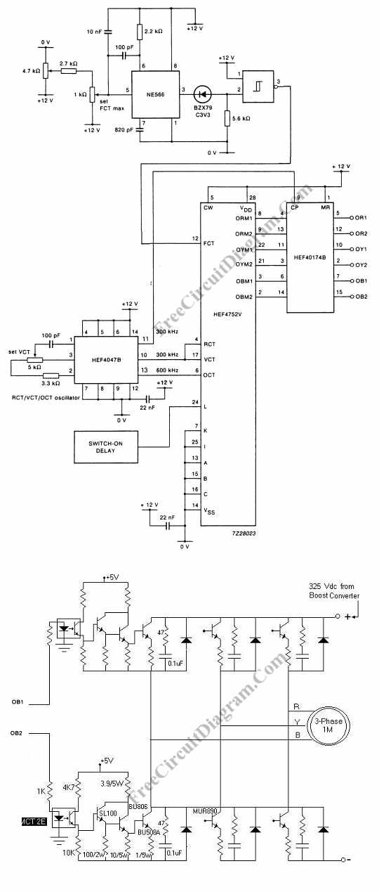 Ac Motor Speed Picture: Ac Motor Schematic