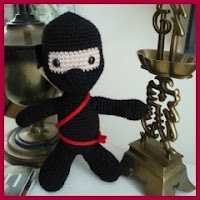 Otro Ninja amigurumi