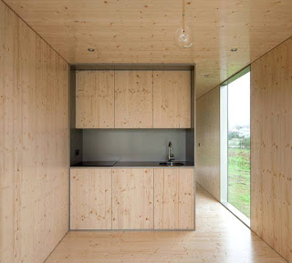 kitchen of prefab house
