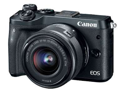 New Canon EOS M6 Digital Camera Adds Powerful Performance to EOS M Series