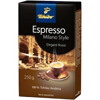 Cafea macinata Tchibo Espresso Milano Style comanda aici