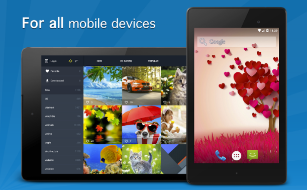 Backgrounds HD 7Fon Apk v4.2.1 Gratis for Android