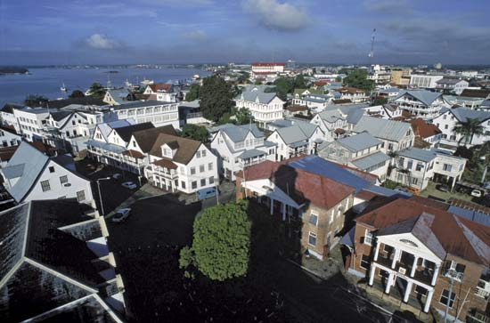 Paramaribo, Capital do Suriname