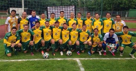 37d9cd68d4 Time da OAB RN na final do Campeonato Mundial de Futebol para Advogados.