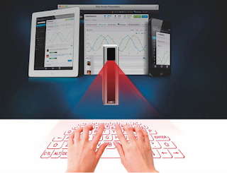 Wireless Bluetooth Virtual Laser Projection Keyboard Mouse For iPhone 6S 6S Plus