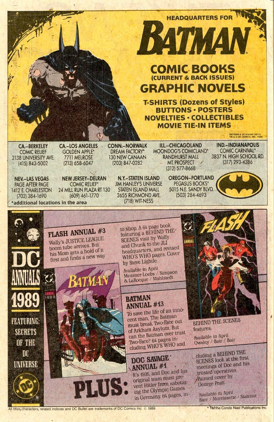 Read online Secret Origins (1986) comic -  Issue # _Annual 3 - 41