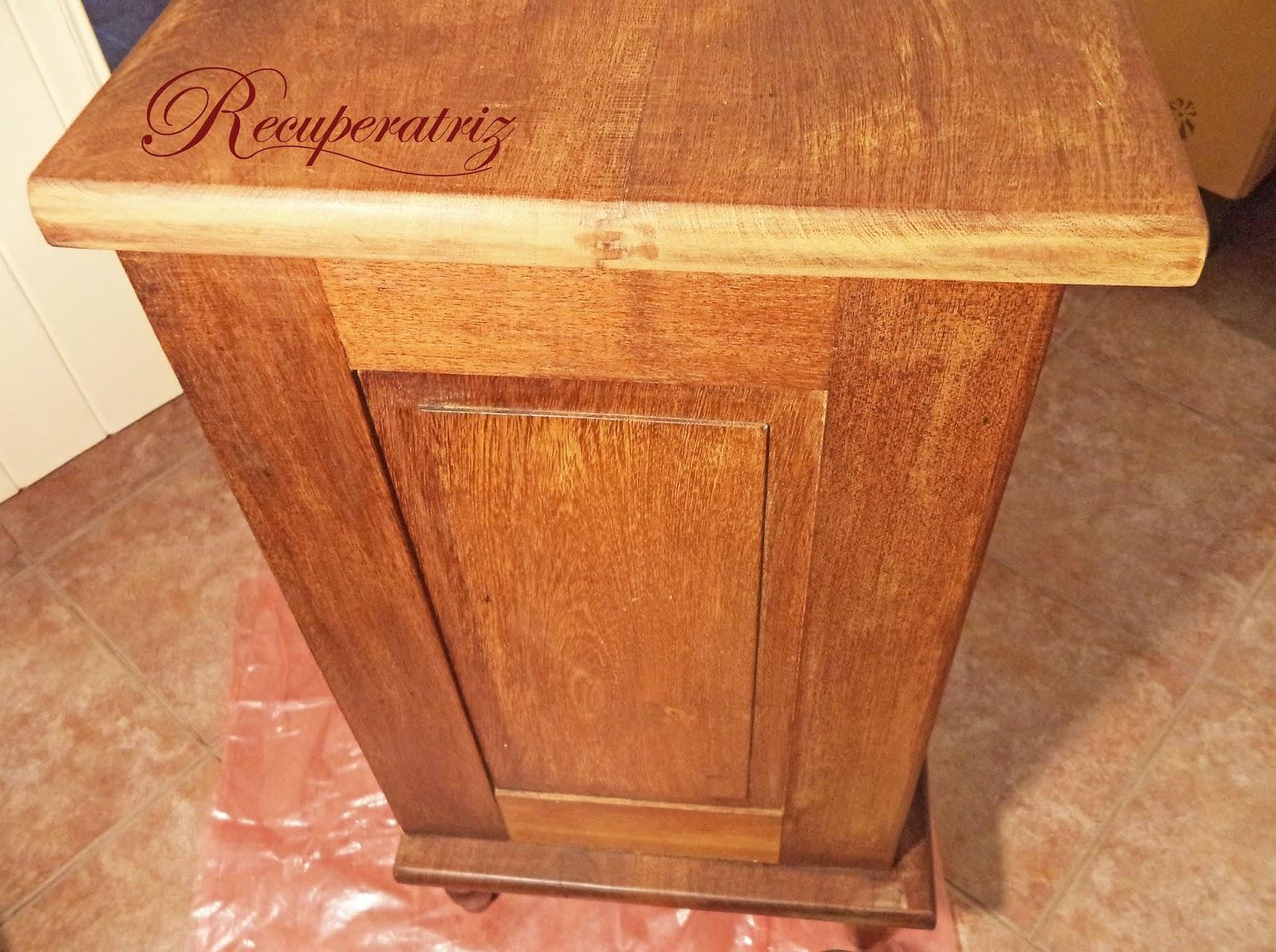 Recuperatriz y tambi n en blanco for Decapante para madera