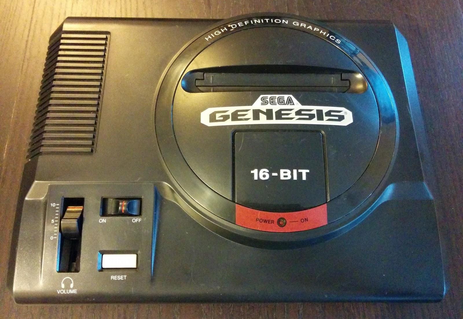 Nerdly Pleasures: Sega Genesis - Is the Stinker really that bad?