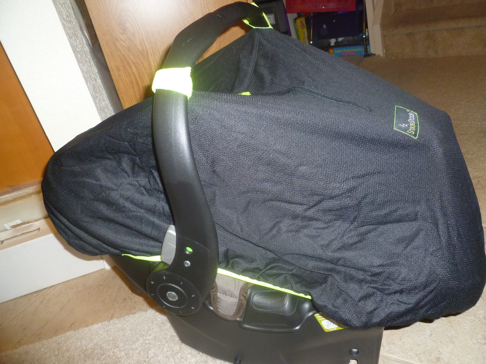 Car Seat Giveaway: SnoozeShade For Car Seat Review And Giveaway