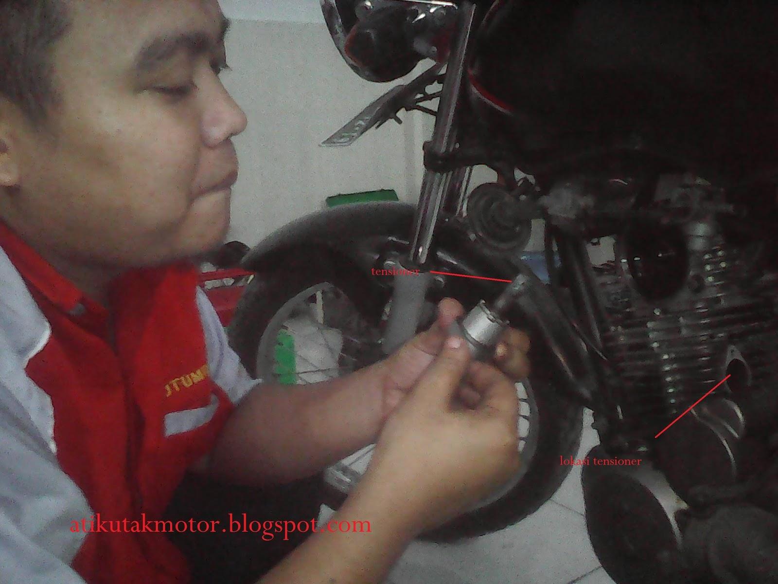 Mengatasi Rantai Timing Rantai Keteng Mega Pro Kendor Utak Atik Sepeda Motor