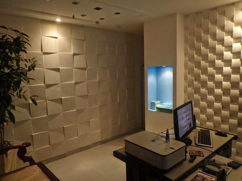 Constru o e reforma em salvador revestimento em gesso 3d for Placas decoradas para pared