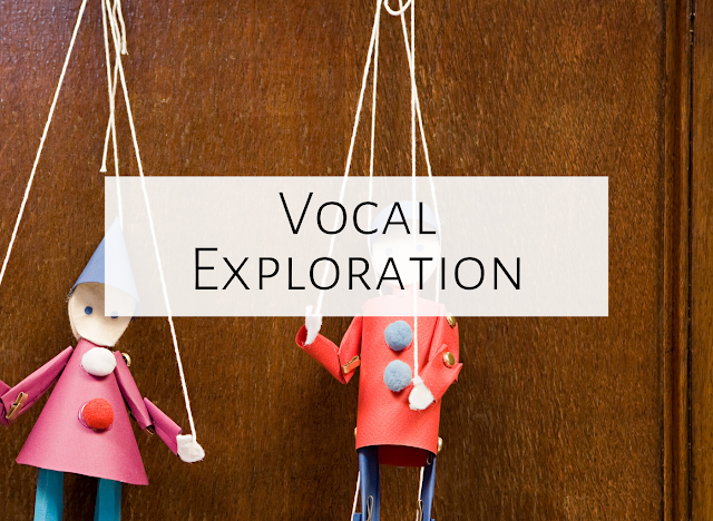 Three vocal exploration ideas