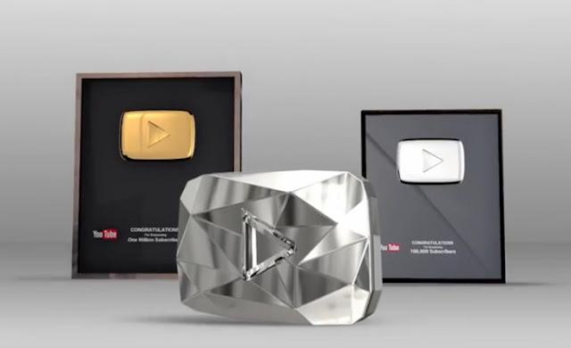 الحصول على جوائز لقناتك من يوتيوب