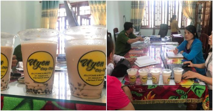 Đình chỉ cơ sở sản xuất trà sữa khiến gần 50 học sinh nhập viện