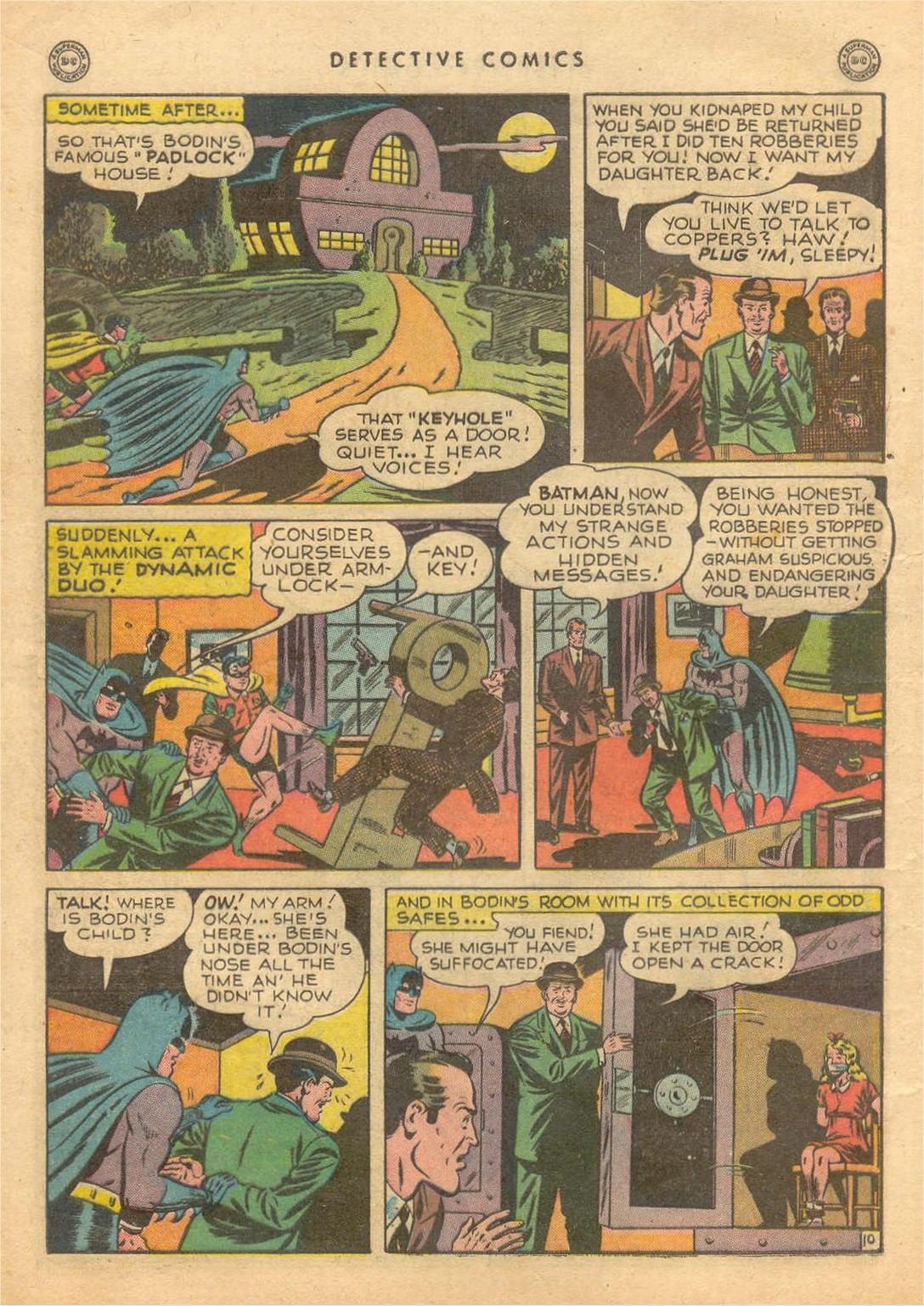 Read online Detective Comics (1937) comic -  Issue #132 - 12