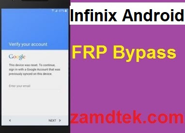 Infini Note 5 X604 Hard reset google reset, and FRP bypass