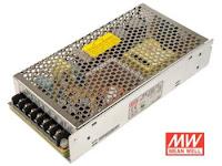 Zasilacz LED modułowy 150W MeanWell. Schodowa instalacja elektryczna LED.