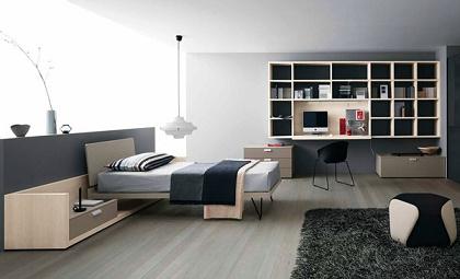 Dormitorios para chicos j venes dormitorios colores y - Habitacion juvenil chico ...