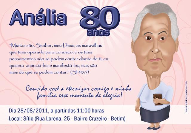 Frases Para Aniversario De 80 Anos