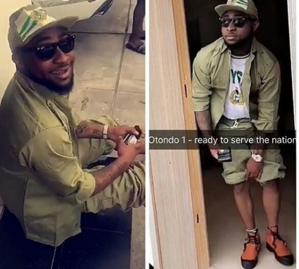 Full Details How Davido Violated NYSC Bye-laws Openly, Gets Letter