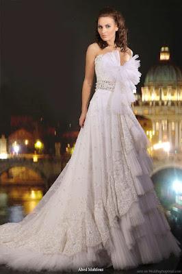 Gaun nikah elegan