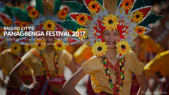 Baguio Panagbenga Festival 2017