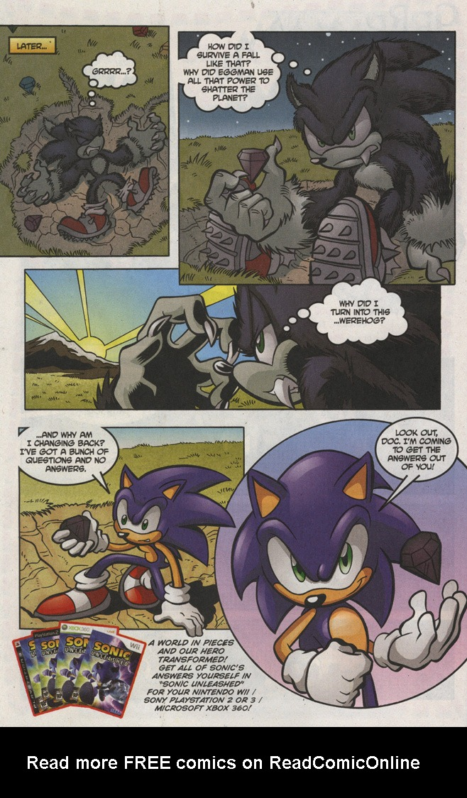Read online Sonic The Hedgehog comic -  Issue #193 - 24