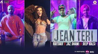 Jean Teri Lyrics – Raftaar Ft Jaz Dhami & Deep Kalsi Song