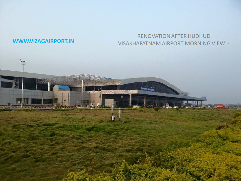 VIZAG AIRPORT AFTER HUDHUD