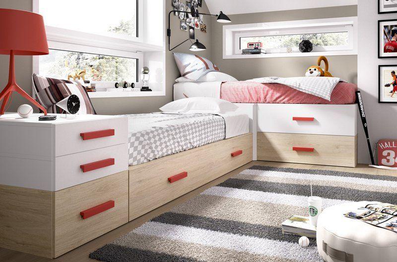 BLOG DORMITORIOS JUVENILES.COM: Dormitorios juveniles con camas en ...