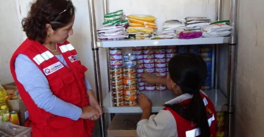 QALI WARMA: Programa social supervisa condiciones de almacenamiento de productos en colegios de Lambayeque - www.qaliwarma.gob.pe