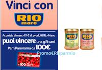 Logo Concorso ''Vinci con Rio Mare'': in palio Card Prepagate da 100€