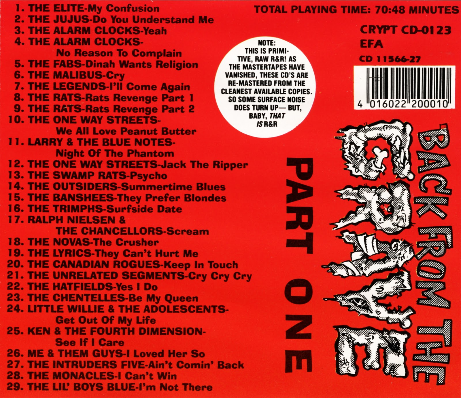 Power Pop Lovers Back From The Grave Part One