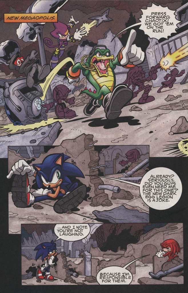 Read online Sonic The Hedgehog comic -  Issue #189 - 6