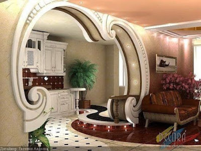 latest pop arches designs for living rooms pop design for hall walls 2019