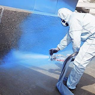 aplikasi polyurea coating spray