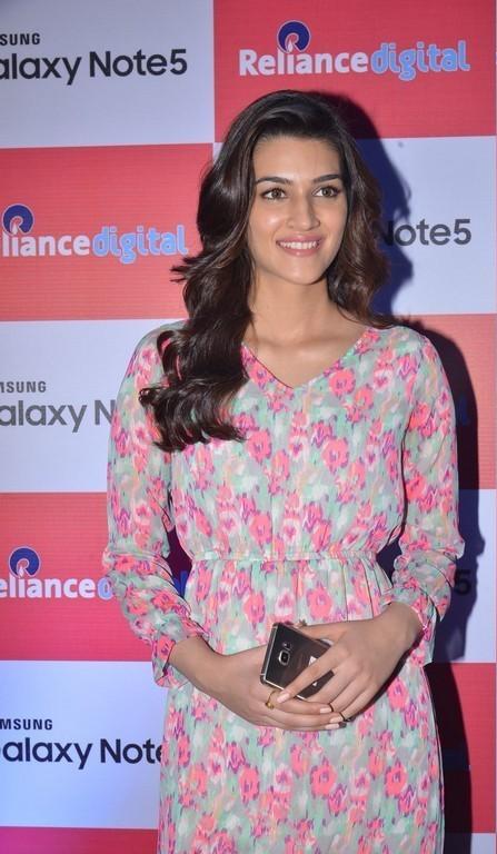 Bollywood Model Kriti Sanon Stills In Red Dress