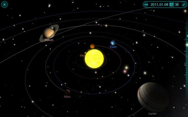 3d Solar System Model :: 3d Puzzle Image