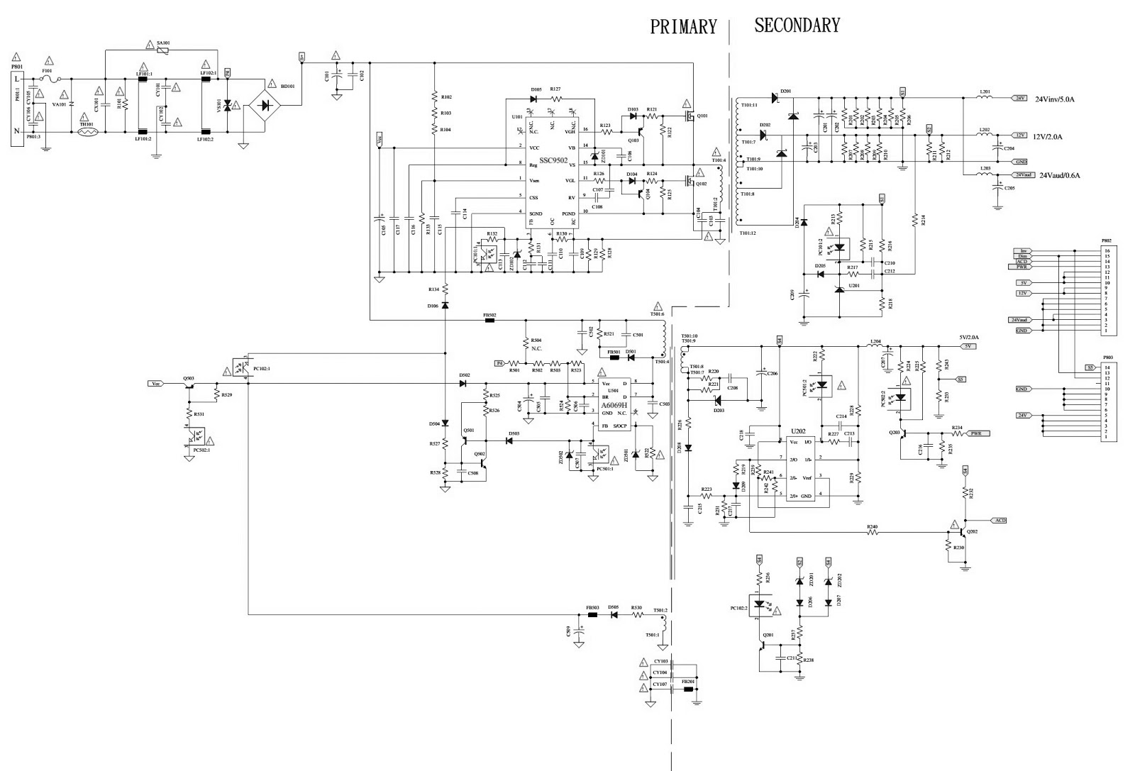 click on the schematics to zoom in [ 1600 x 1087 Pixel ]