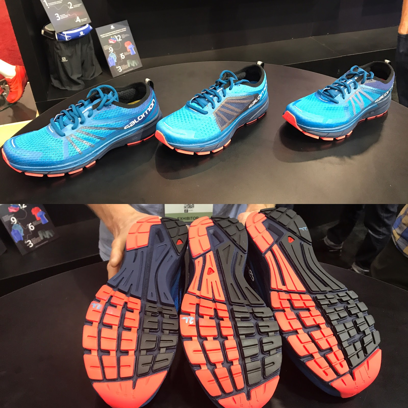 a3bd529ec800 New Salomon Running Avenue road line HERE RA Sonic Pro