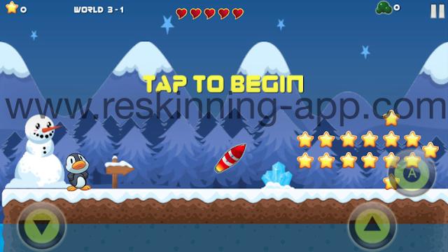تحميل كود سورس لعبة Peguin Adventure- Complete Game Kit مجانا