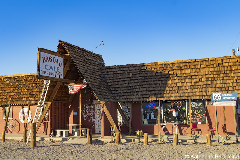 Bagdad Cafe Newberry Springs California Route 66 Road Trip Attractions