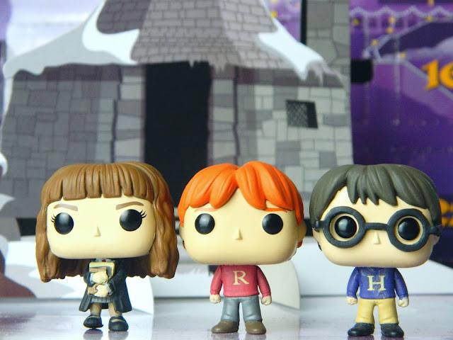 Funko Pocket Pop! Hermione Granger, Ron Weasley, Harry Potter