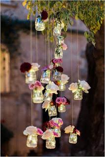 decorazione matrimonio fai da te lanterne sospese