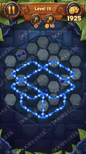 Gems & Magic [Titanium] Level 15 Solution, Walkthrough, Cheats